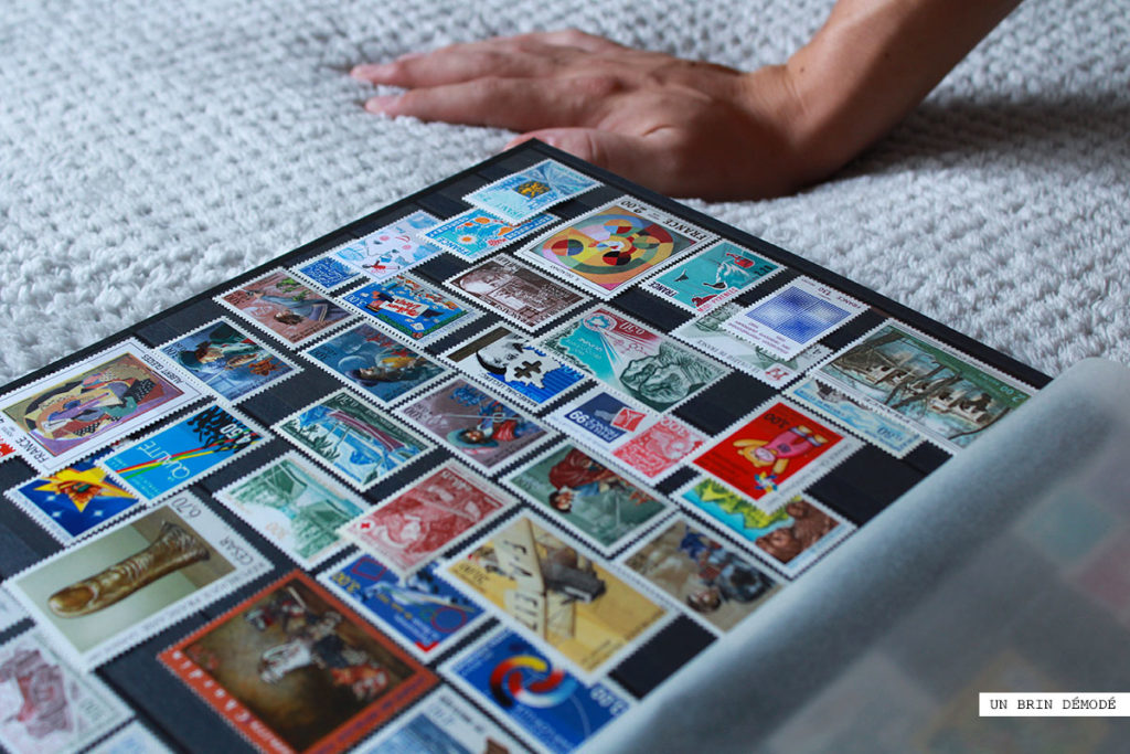 Collection de timbres postcrossing