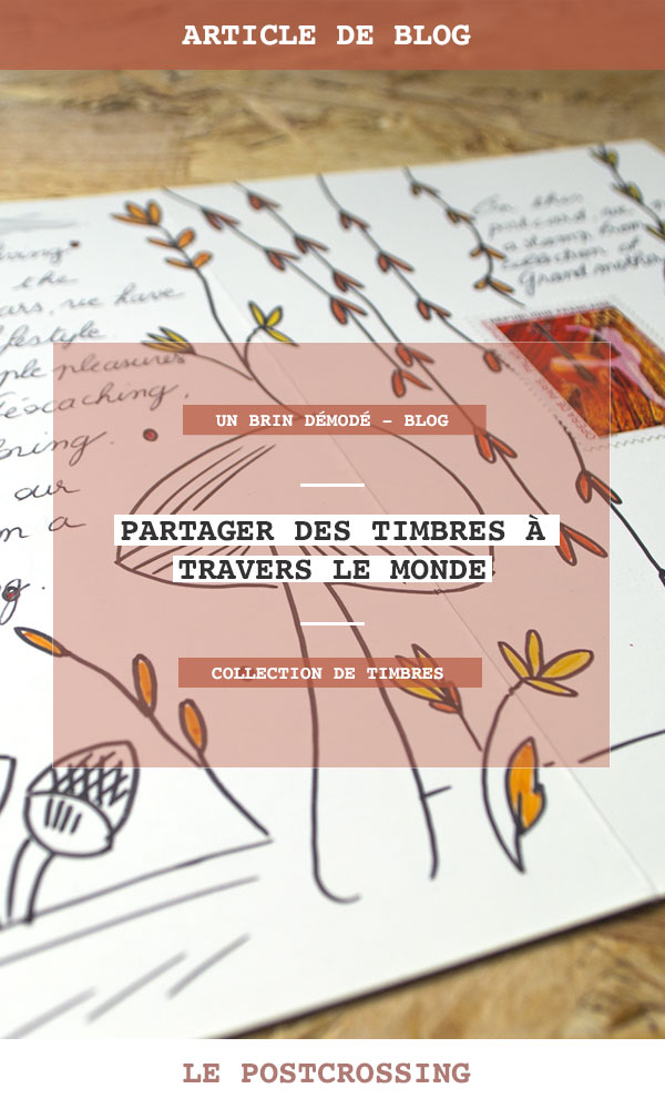 Partage collection timbres